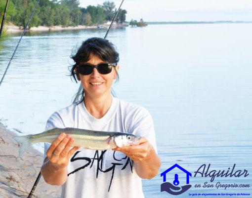 La pesca es otra de las cosas que puedes disfrutar en San Gregorio de Polanco